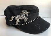 Image of Cadet Hat Opal Crystal Unicorn