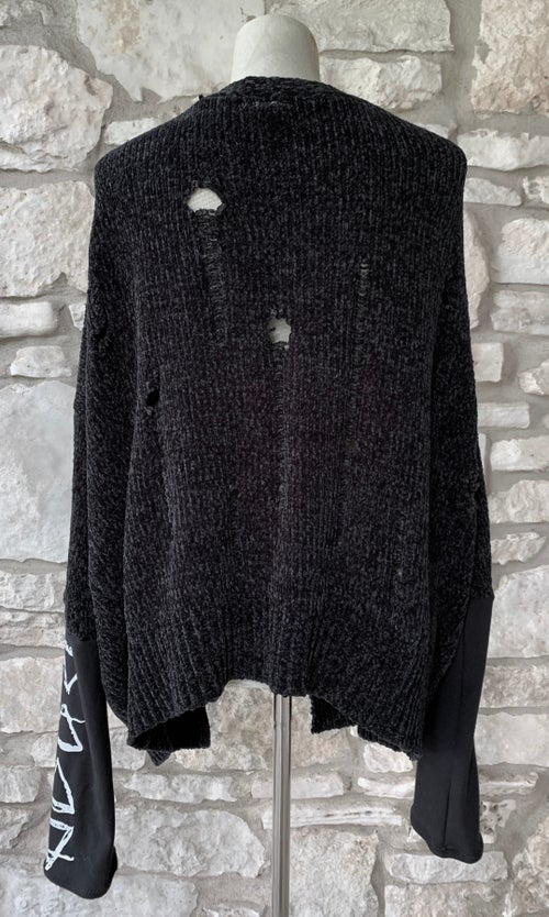 Image of SIZE S/M OOAK ELEMENTS CARDIGAN