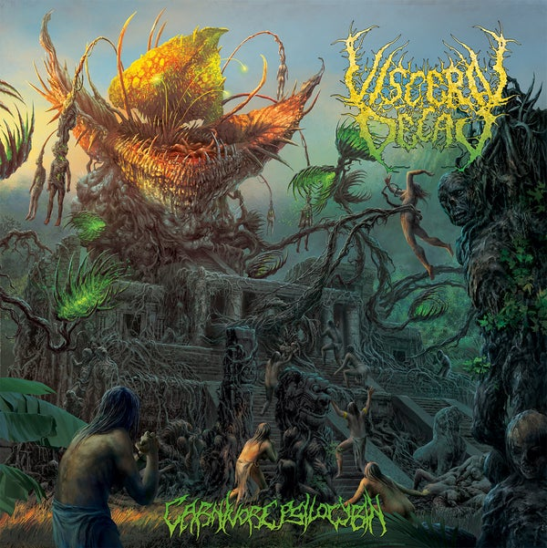 Image of VISCERAL DECAY - Carnivore Psilocybin CD