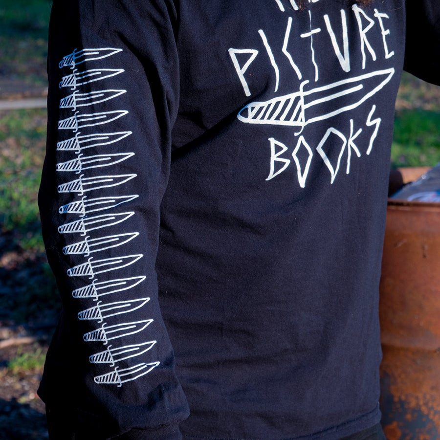 "Image of ""DAGGER - LONG SLEEVE"" blck"