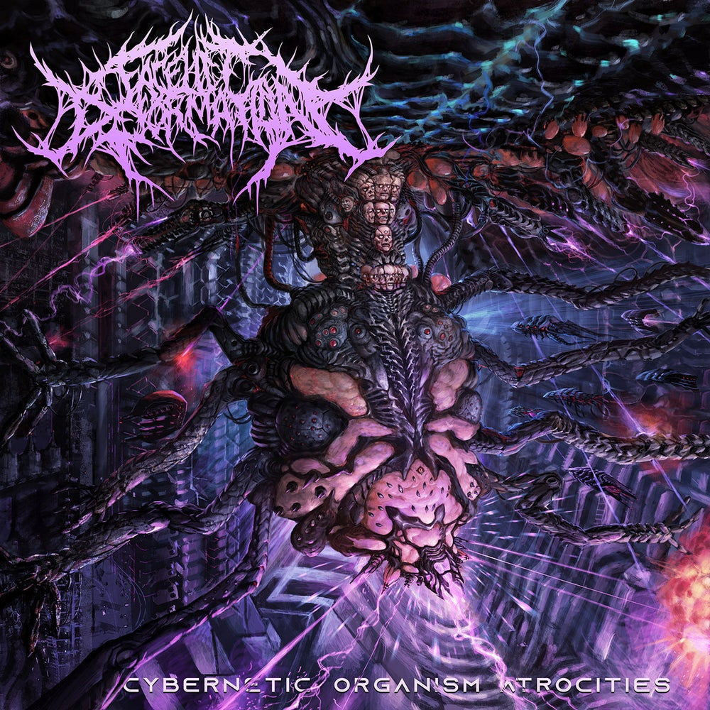 Image of FACELIFT DEFORMATION - Cybernetic Organism Atrocities CD