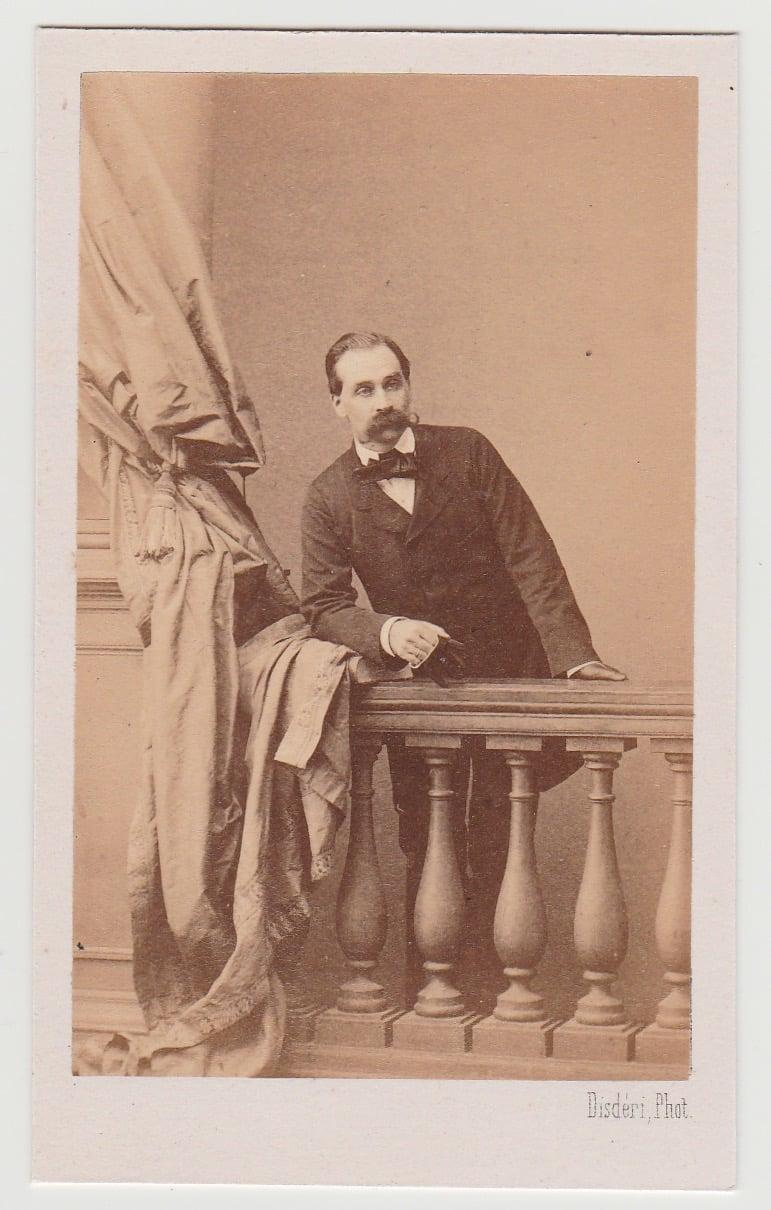 Image of DISDERI: MARQUIS GEORGES DE PIMODAN, CA. 1860