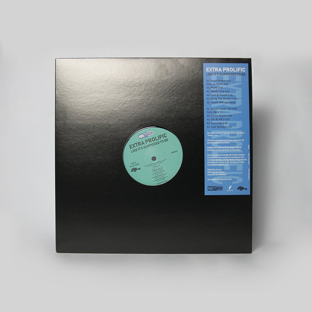 "Image of Extra Prolific ""Like It's Supposed To Be"" LP"