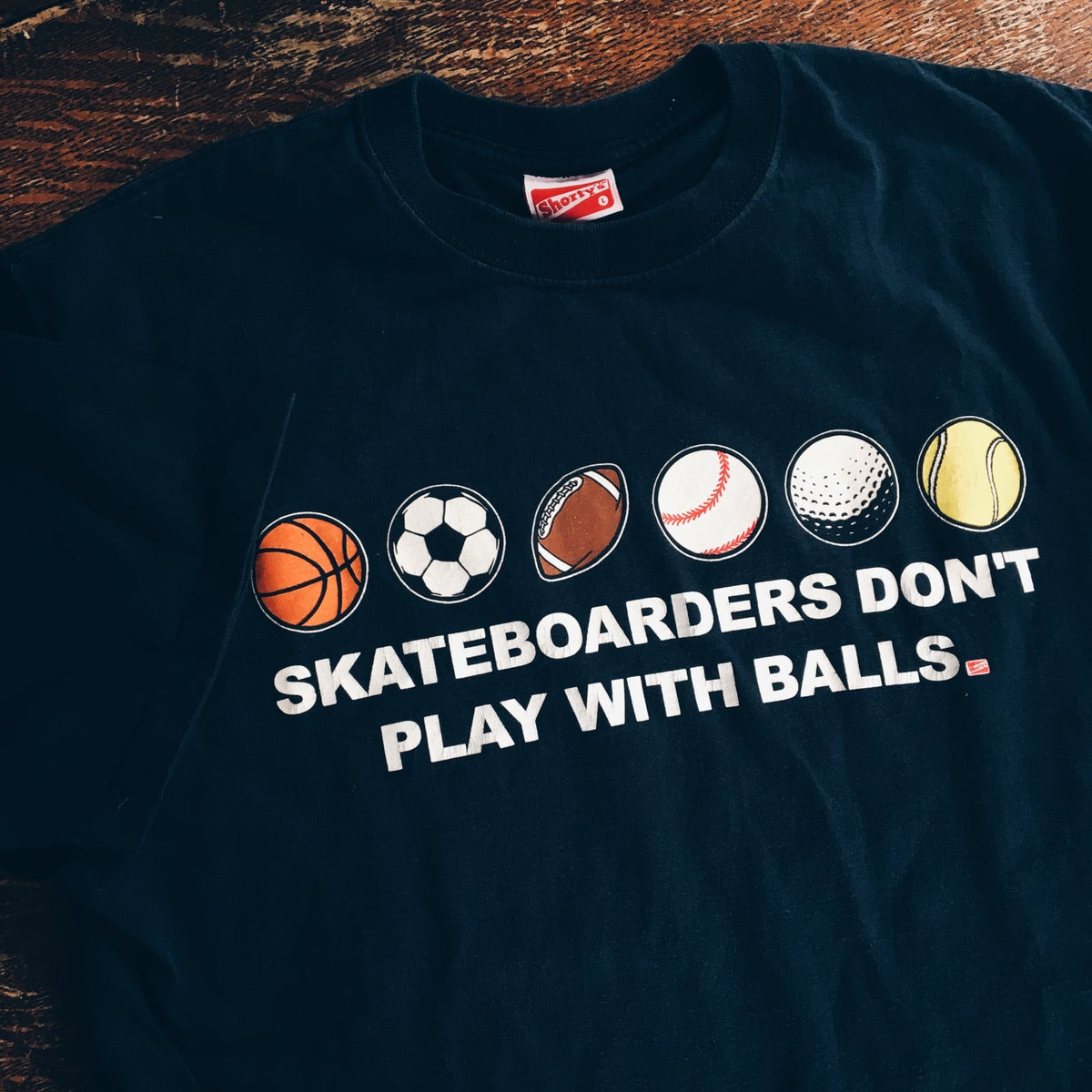 Image of Vintage Shorty's Skateboards Sports Tee.