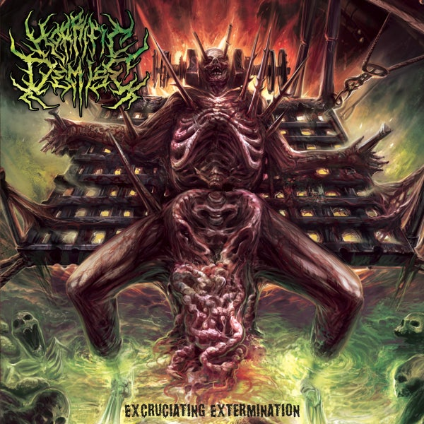 Image of HORRIFIC DEMISE - Excruciating Extermination CD