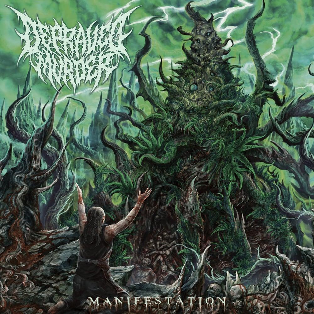 Image of DEPRAVED MURDER - Manifestation CD