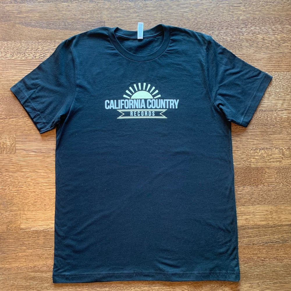 Image of California Country Records Men's Tee - Black