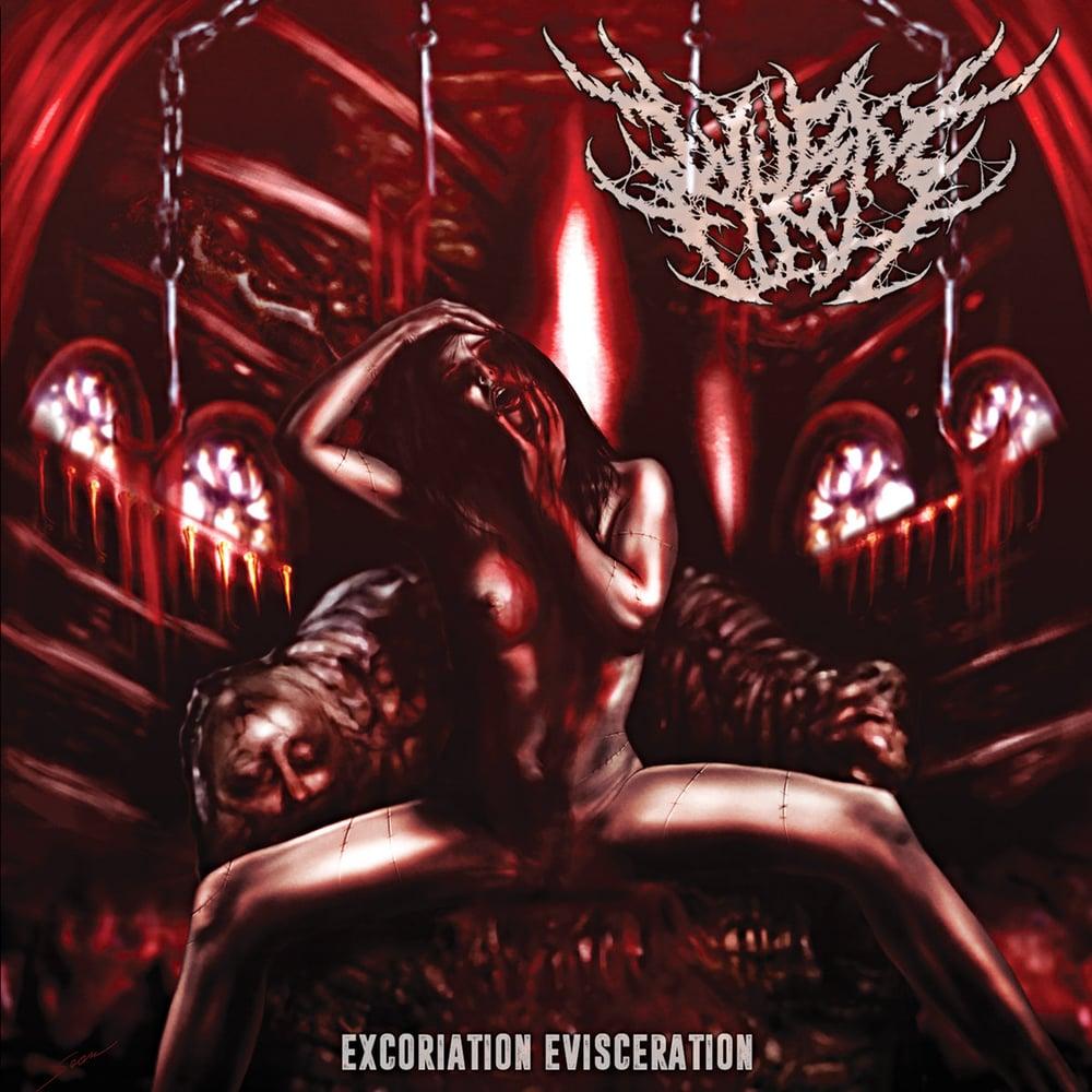 Image of WURM FLESH - Excoriation Evisceration CD