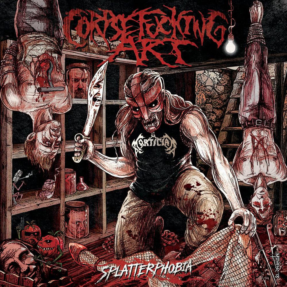 Image of CORPSEFUCKING ART - Splatterphobia CD