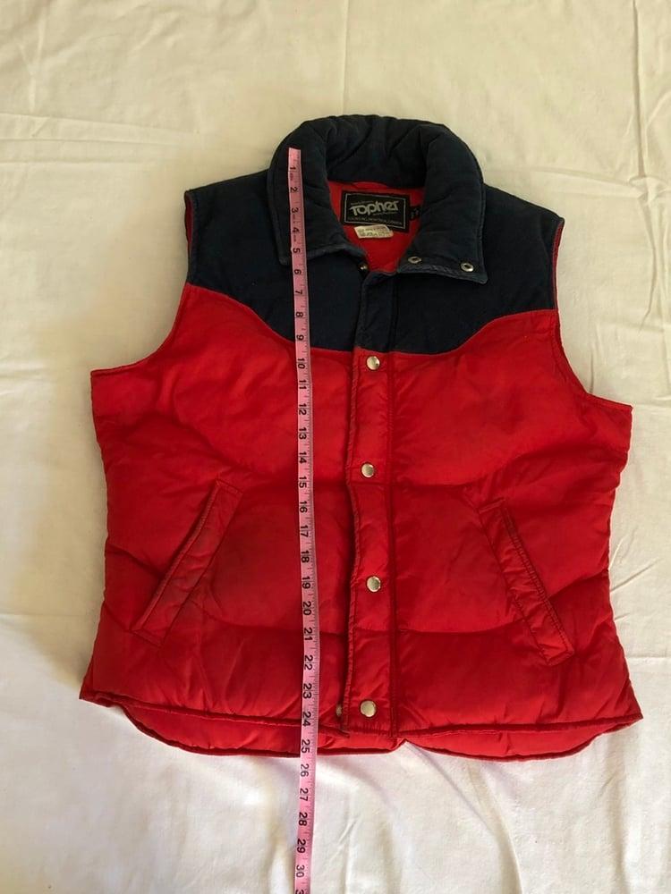 Image of Medium/Large Topher Down Filled Nylon + Corduroy Vest