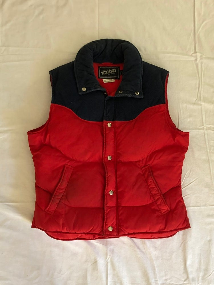 Image of Topher Down Filled Nylon + Corduroy Vest