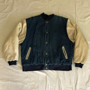 Image of Cotton + Denim, quilted lining