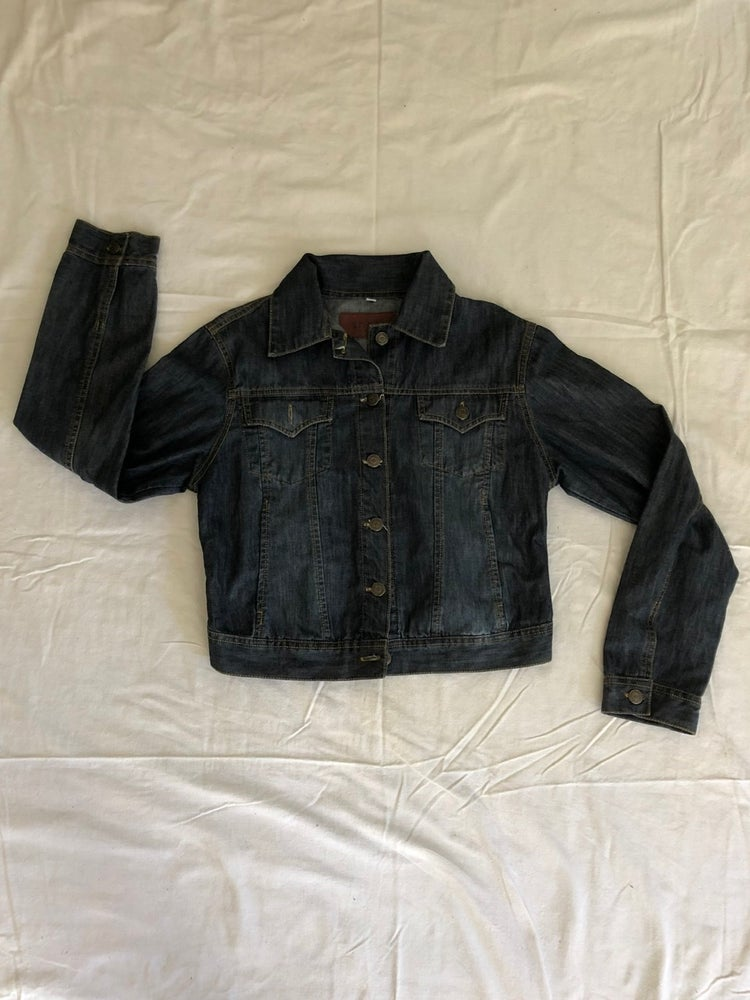 Image of Kid's XL Denim with Leather Moon Patch