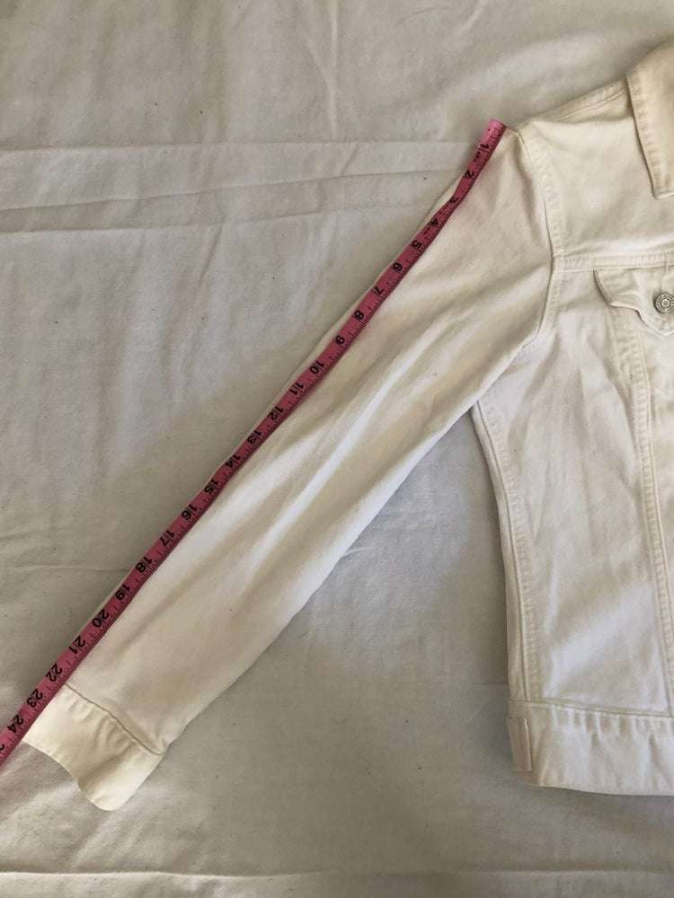 Image of Gap White Denim