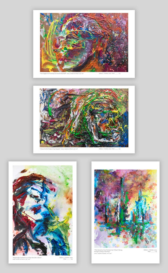 Image of FOUR PIECE PRINT BUNDLE