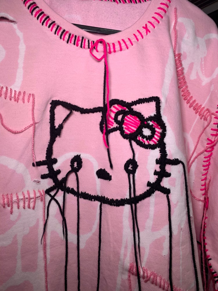 Image of HELLO KITTY X THE END IS NEAR SWEATER