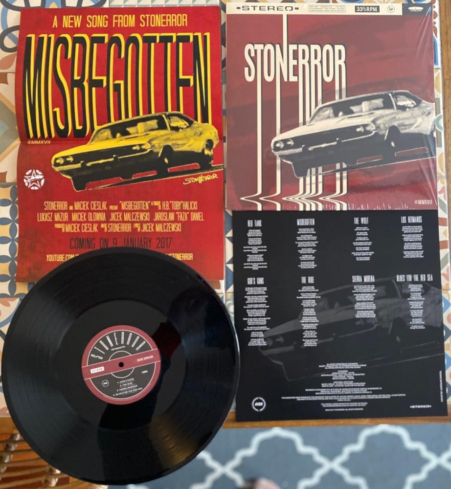 "Image of STONERROR ""STONERROR"" BLACK VINYL ISR EDITION"