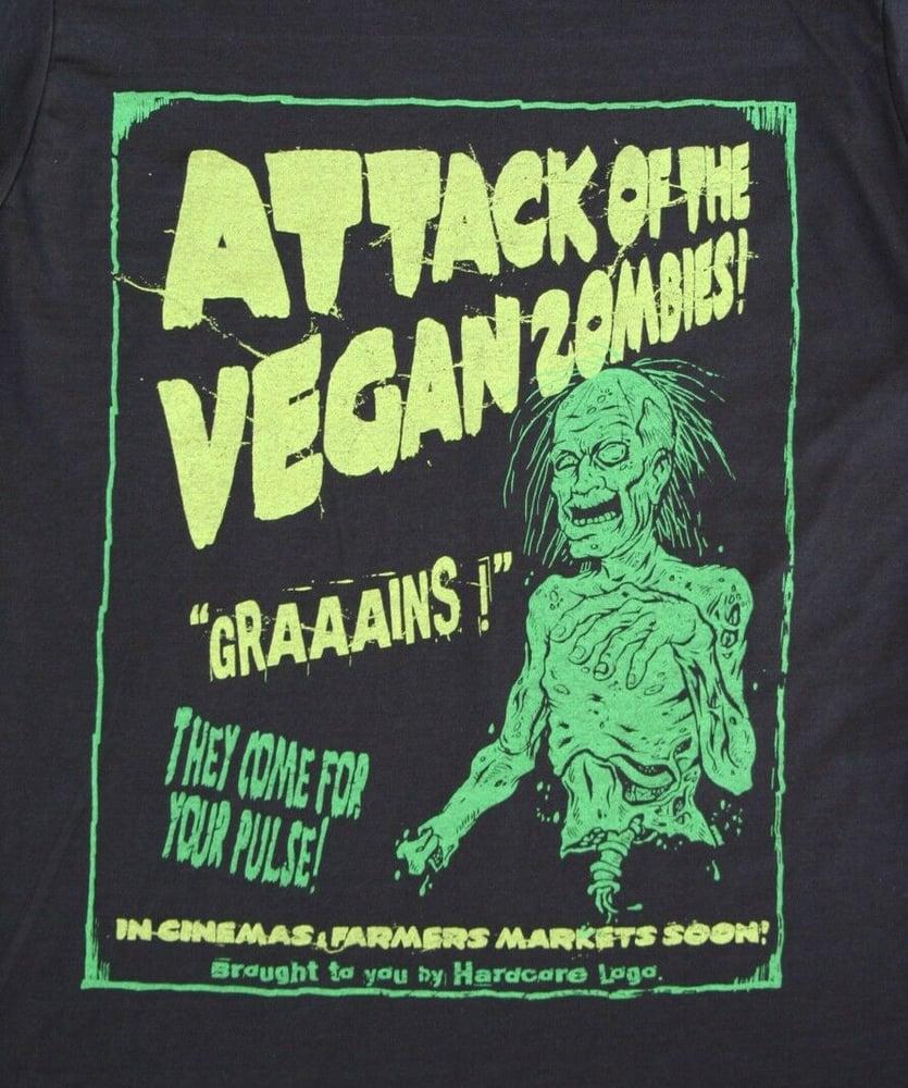 Image of Vegan Zombies ! Unisex Zip Hoodies
