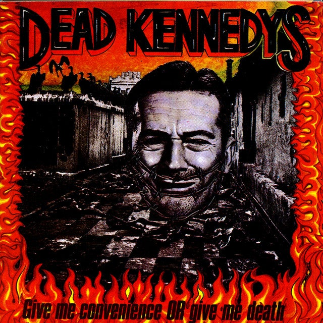 Image of Dead Kennedys - Give Me Convenience or Give Me Death LP
