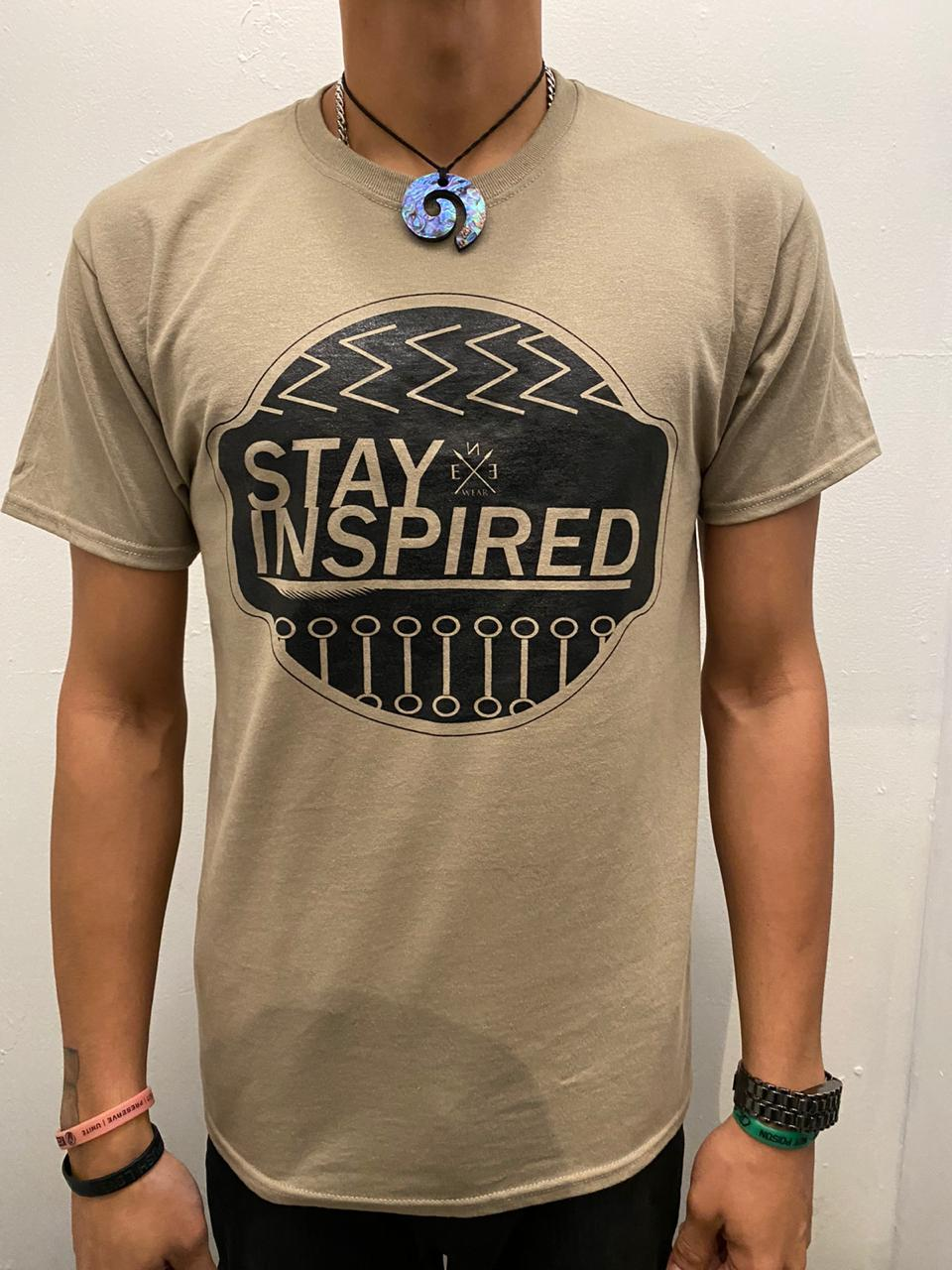 Image of STAY INSPIRED PRE LATTE TEE
