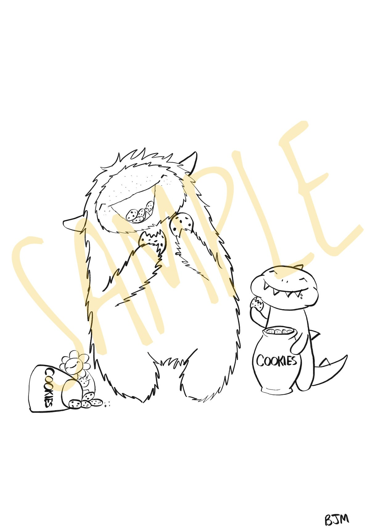Image of Snack Time For Monsters