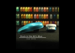 Image of Stuck in the 80's - Blue
