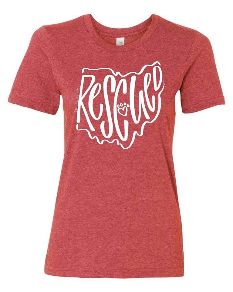 RESCUED women's shirt