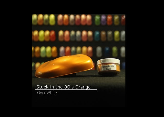 Image of Stuck in the 80's - Orange