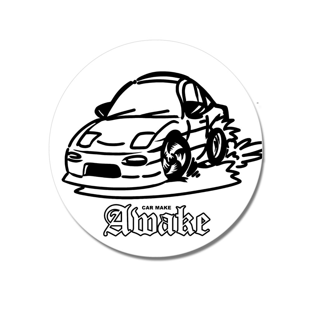 Image of Car Make AWAKE sticker