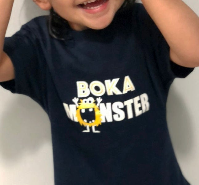 Image of BOKA MONSTER - NENEWEAR TEE