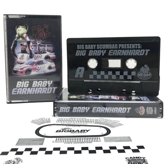 Image of Big Baby Scumbag : Big Baby Earnhardt : limited cassette release
