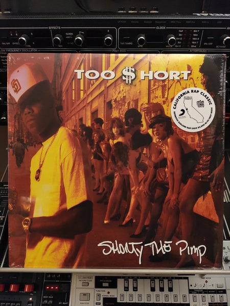 Image of Too Short ‎– Shorty The Pimp