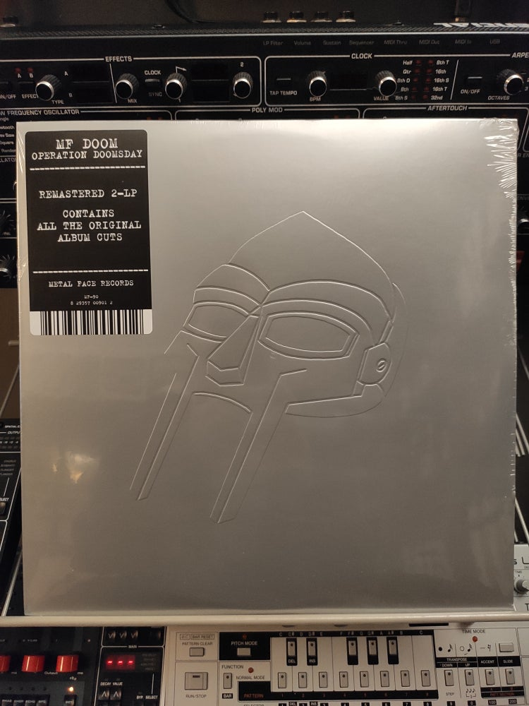 Image of MF DOOM ‎– Operation: Doomsday (Silver)
