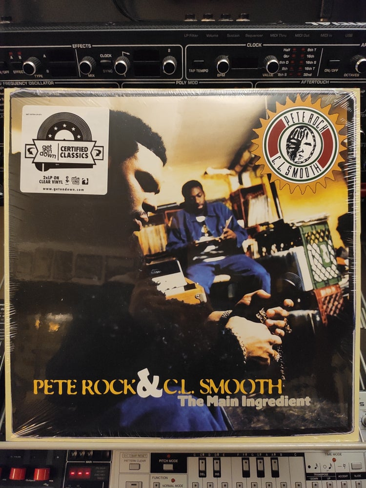 Image of Pete Rock & C.L. Smooth ‎– The Main Ingredient
