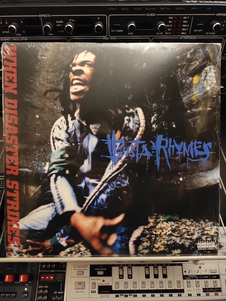Image of Busta Rhymes ‎– When Disaster Strikes...