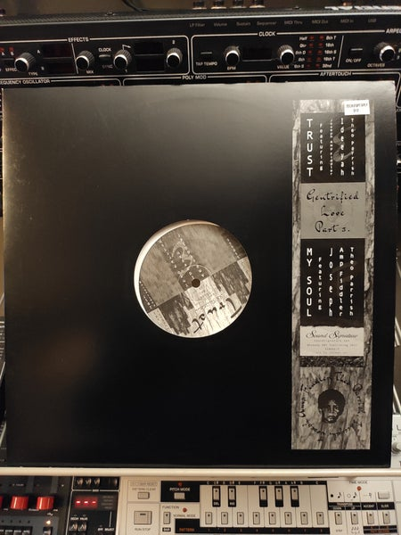 Image of Theo Parrish, Amp Fiddler ‎– Gentrified Love Part 3