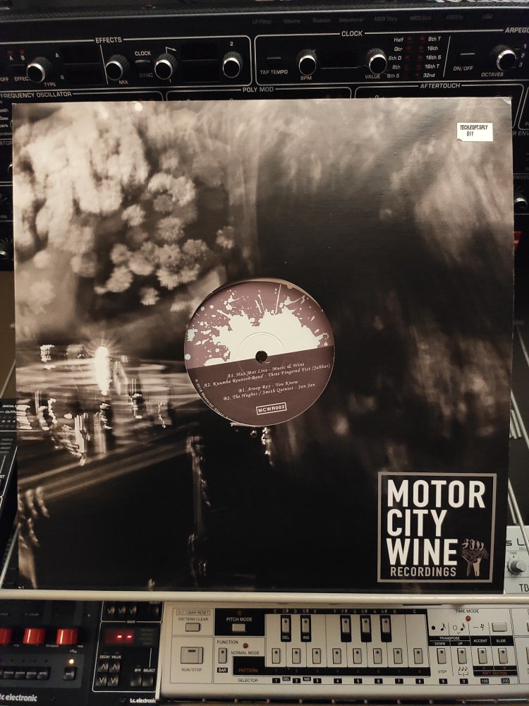 Image of Various ‎– MotorCity Wine Recordings #2