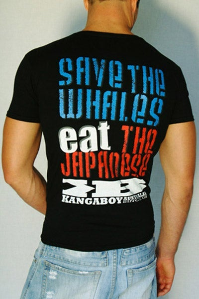 Image of Save The Whales and Bear Farming Sucks! - Unisex T-shirts - Women's Scoop Neck T-shirt