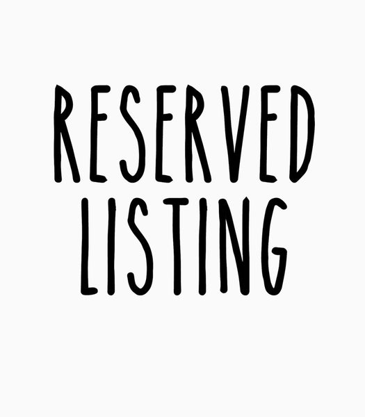 Image of Reserved Listing