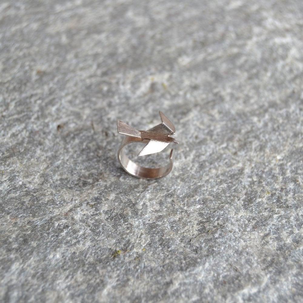 Image of Ridderhus ravn - ring