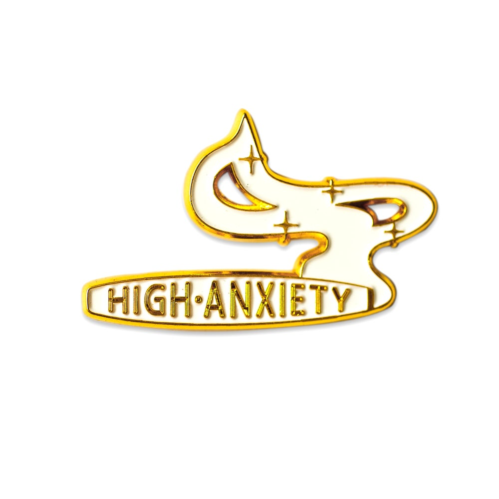 Image of High Anxiety - WHITE