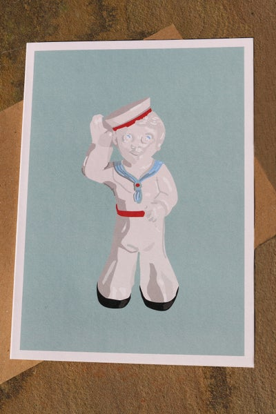 Image of Sailor Sam Greeting Card