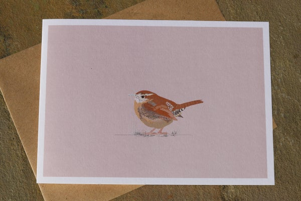 Image of Wren Greeting Card