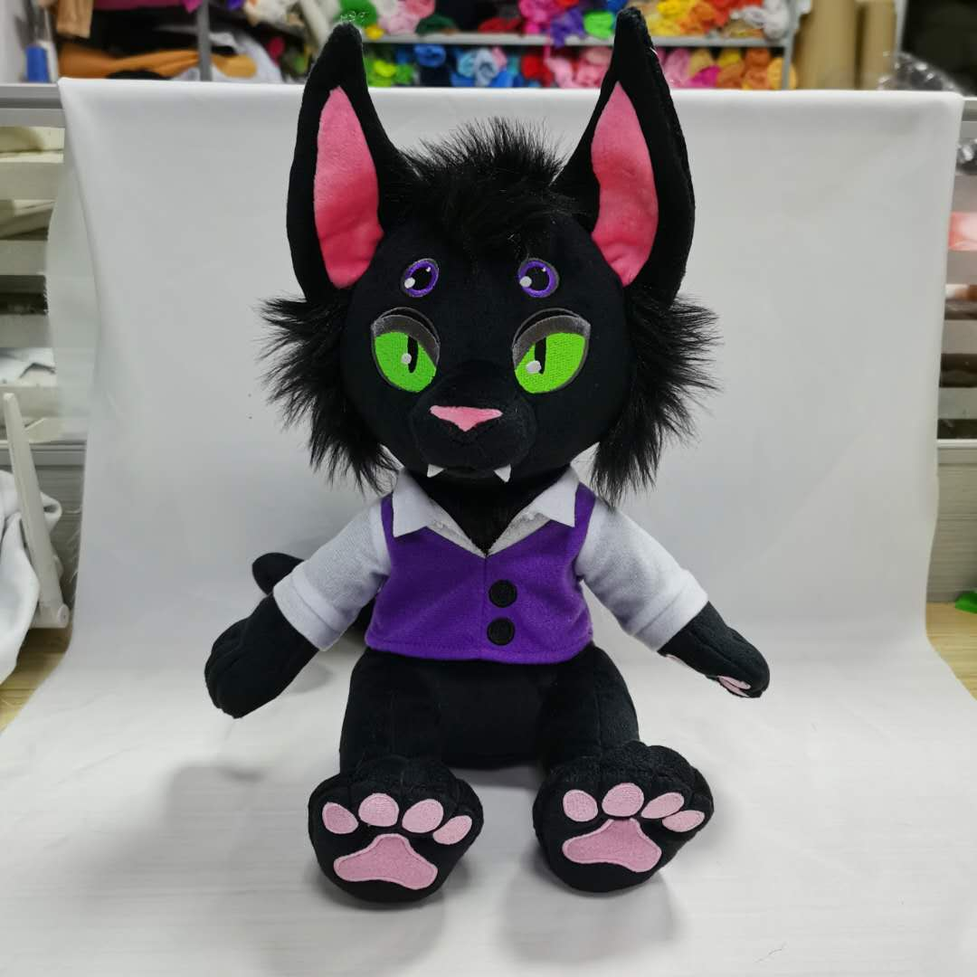 Image of Nick Nocturne Plush Preorder ROUND 3