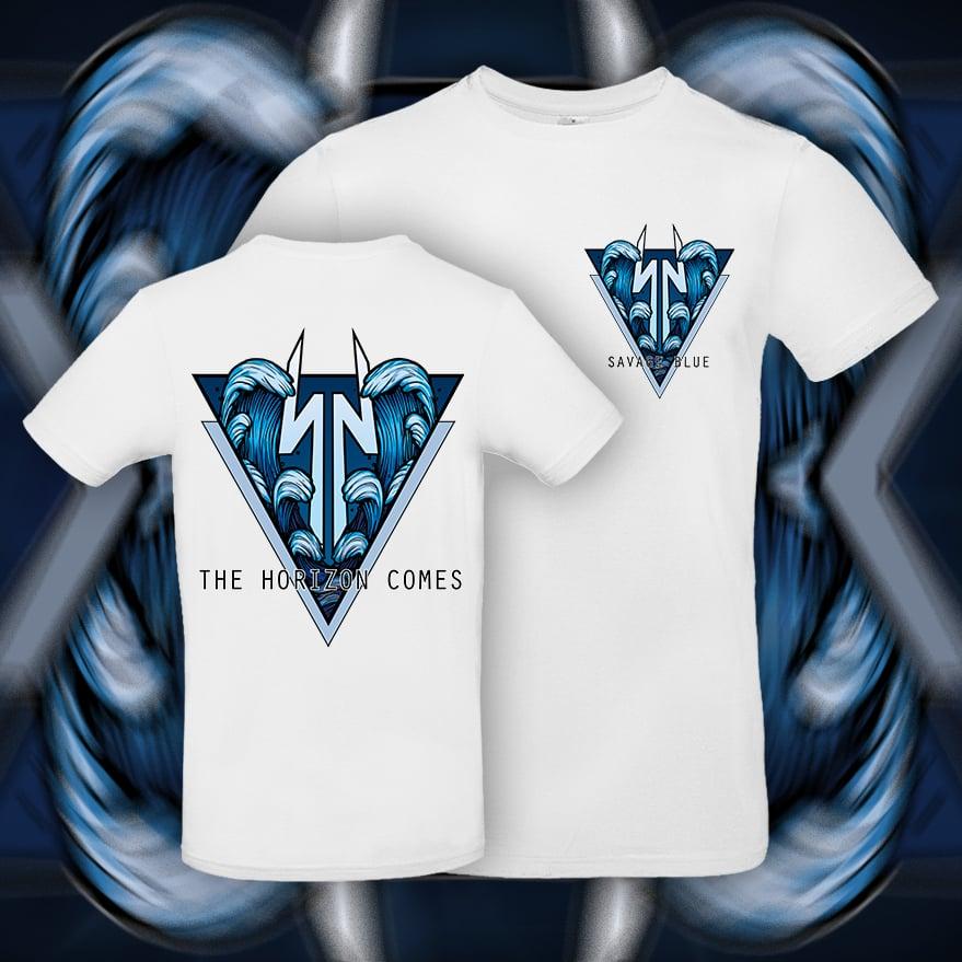 Savage Blue T-Shirt WHITE