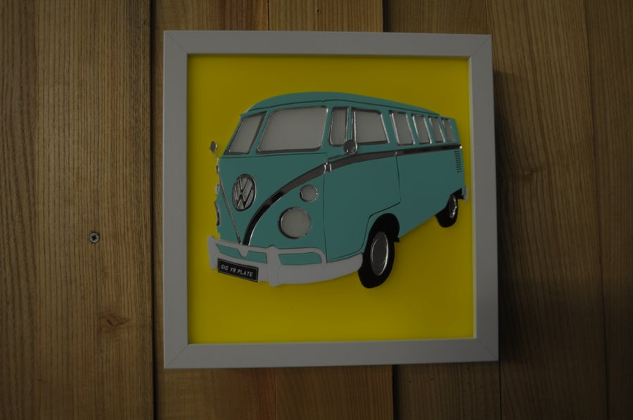 Image of VW T1 campervan