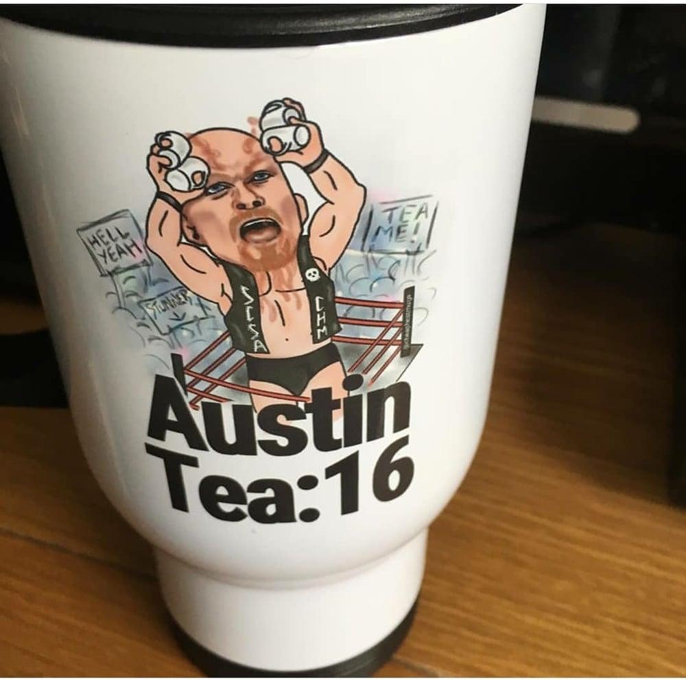 Image of Austin Tea:16 (stainless steel travel mug)