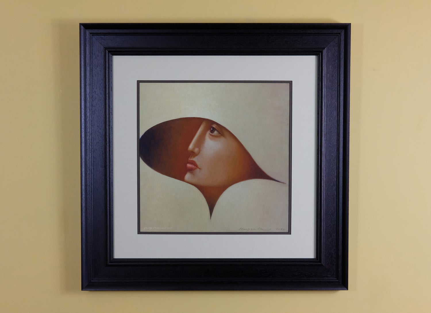 Image of GEORGE UNDERWOOD 'AHEAD OF THE CURVE' SIGNED LIMITED EDITION ART PRINT