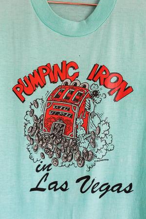 Image of Vintage 80's Las Vegas - 'Pumping Iron' tee