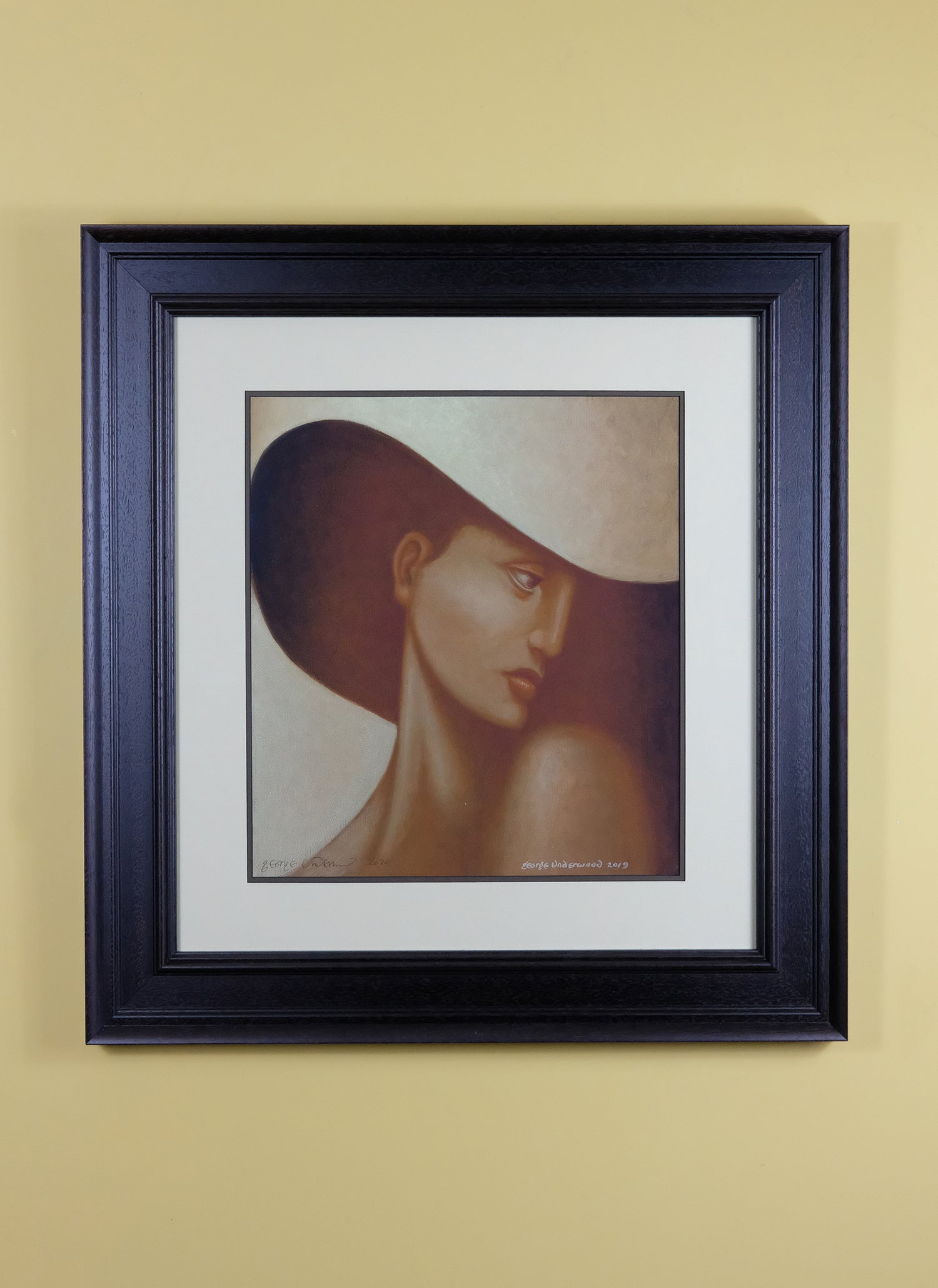 Image of GEORGE UNDERWOOD 'SHADY JANE' LIMITED EDITION SIGNED ART PRINT
